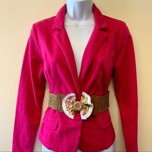 a.n.a Dark Pink Blazer